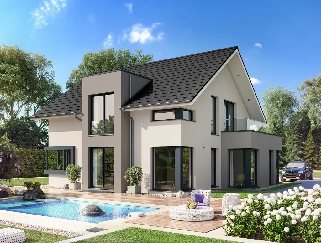1324 Best HausbauDirekt Images On Pinterest   Blueprints For Homes, Floor  Plans And Homes