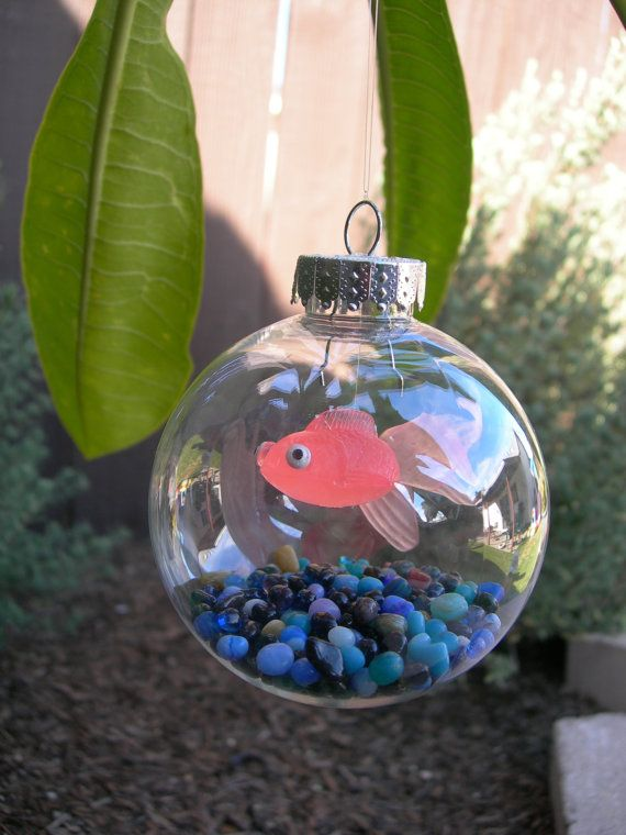 100 best kids crafts images on pinterest crafts for kids and new christmas tree fish tank ornament the kids are going to love making these for the christmas tree awesome diy craft using the clear ornament balls solutioingenieria Images