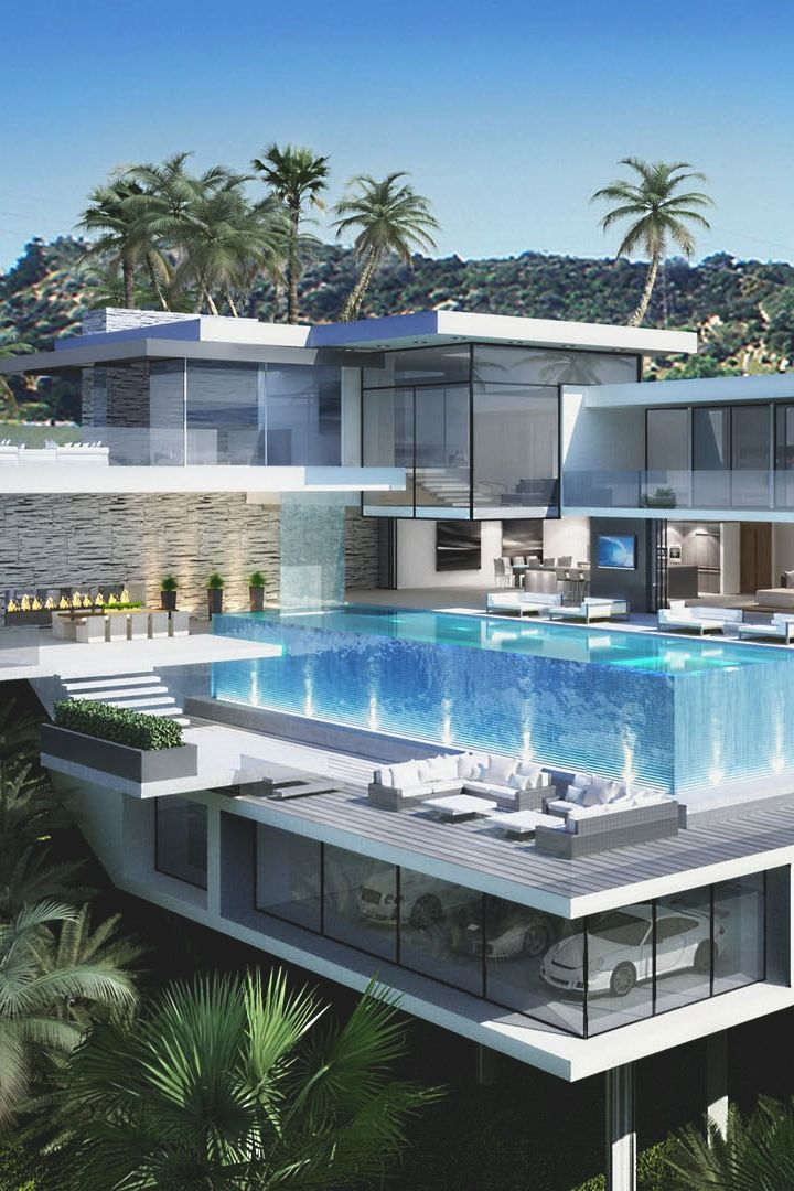 Traumhaus modern mit pool  368 best Exterior house design images on Pinterest | Luxury houses ...