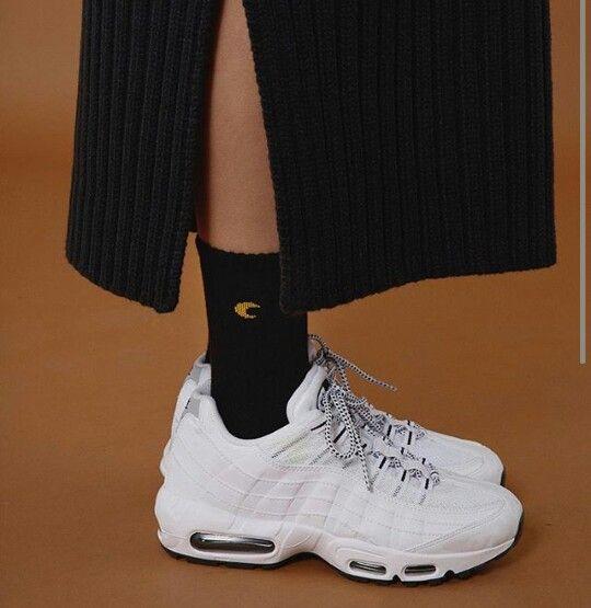 Air Blanc Nike Max 95 Femmes Tenue