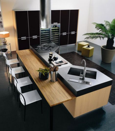 37 best Modern kitchens images on Pinterest Arquitetura Black and