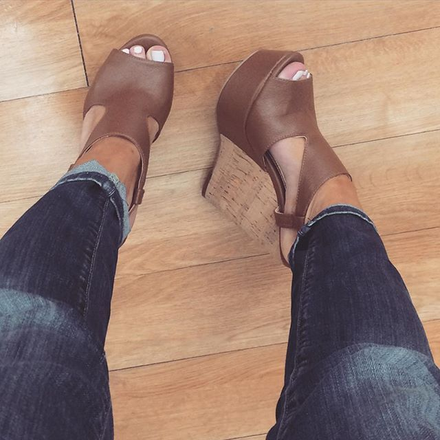 Instagram Analytics. Beige WedgesBrown Wedges OutfitBrown Shoes OutfitCamel  ...