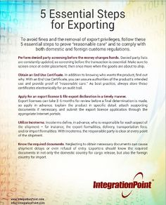 Best Export Management Images On   Management Filing