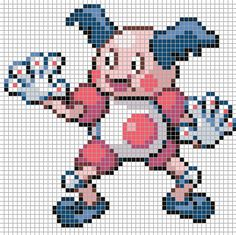 electabuzz perler pokemon