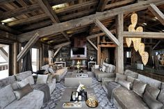 8 Best » Luxury Chalet Brickell | Megève | France « Images On Pinterest |  Chalets, Lodges And Cottages Amazing Pictures