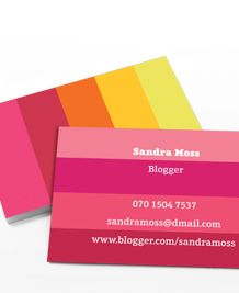 100 best 100 creative pink business cards for your inspiration want to learn how to create amazing business cards download for free the complete reheart Image collections