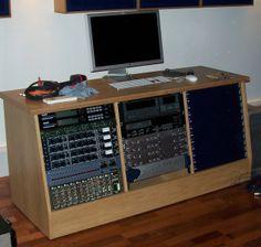 228 Best 19 Inch Rack U0026 Desk Building (DIY) Images On Pinterest | Desk,  Music Studios And Music