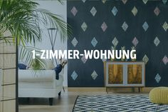 124 Best 1  Zimmer Wohnung Einrichten Images On Pinterest | Small Spaces,  Bedroom Ideas And Small Apartments