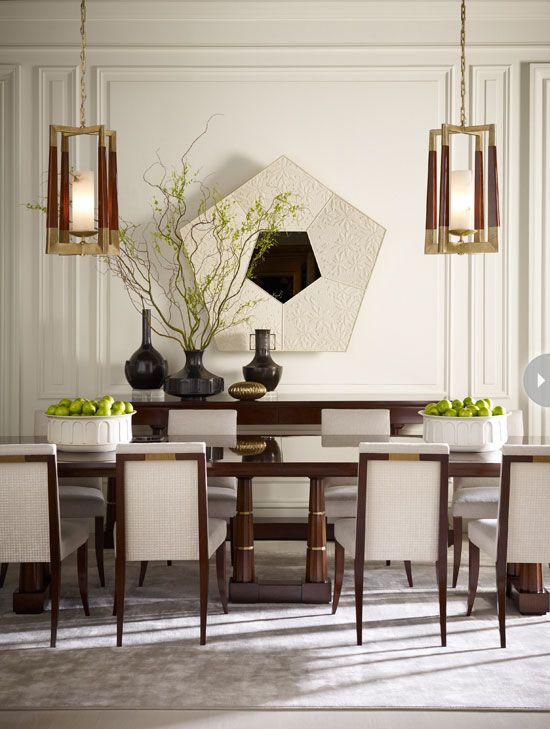 Dining Room Interior Design Gorgeous 116 Best Thomas Pheasant Interiors Images On Pinterest  Pheasant Review