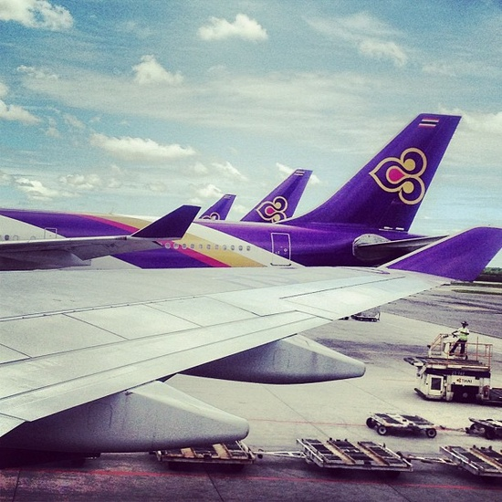 7 best I Fly THAI images on Pinterest | Thai airways, Air ride and Posters
