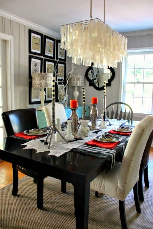 499 Best Kitchen Lighting Images On Pinterest  Dining Rooms Alluring Rectangular Dining Room Lighting Design Ideas