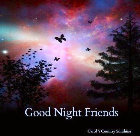 gute nacht freunde text