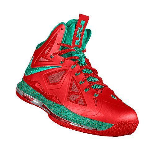 Christmas LeBron shoes