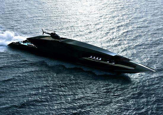 bateau zaha hadid