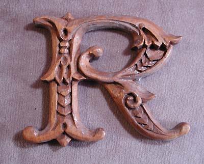 105 best carving lettering images on pinterest graphics carved wood letter spiritdancerdesigns Images