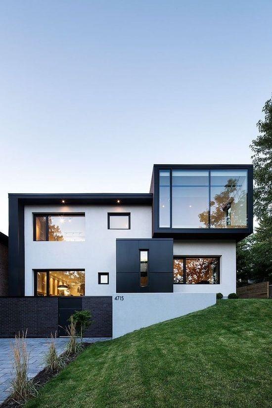 117 besten Häuser Bilder auf Pinterest | Kleine häuser, Moderne ...