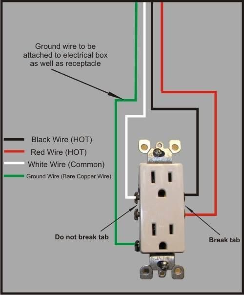 113 best electrical images on pinterest electrical projects rh pinterest com wiring wall plugs in series installing wall plugs