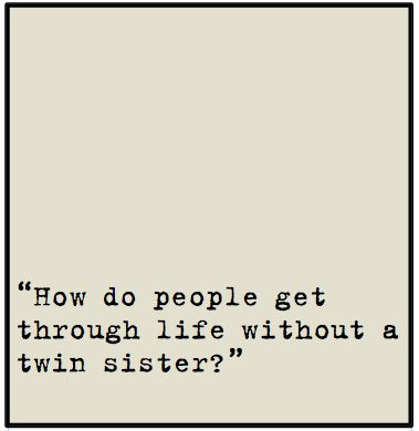 cute twin quotes