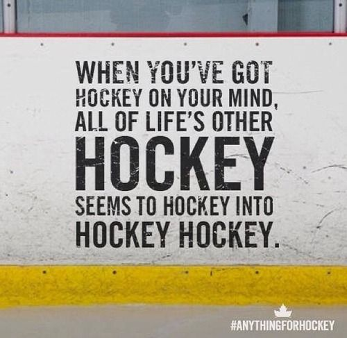 Best Hockey On My Mind Images On   Blackhawks Hockey