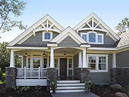 Superior Home Plans · Craftsman House Gallery | ... Gallery, Corner Lot, Northwest,  Craftsman House