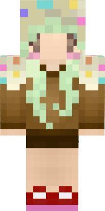 Minecraft Spielen Deutsch Skins Para Minecraft Pe Kawaii Bild - Skin para minecraft pe kawaii