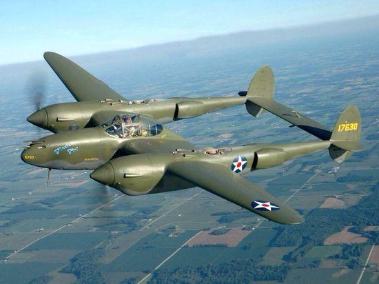 Lockheed P 38 Lightning