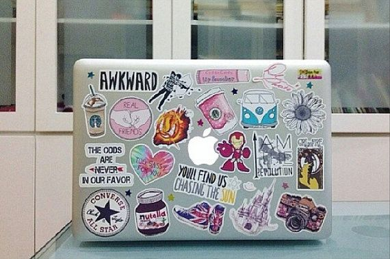 Band Stickers For Macbook