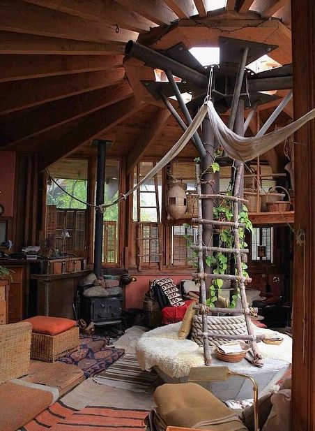 22 best tree houses images on pinterest beautiful tree houses cool tree houses and fairy doors