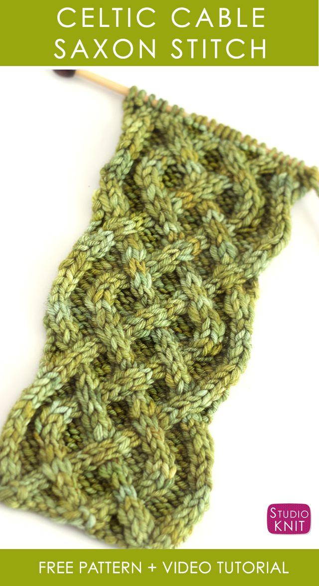 191 mejores imágenes de Knit Stitch Patterns - Cable en Pinterest ...
