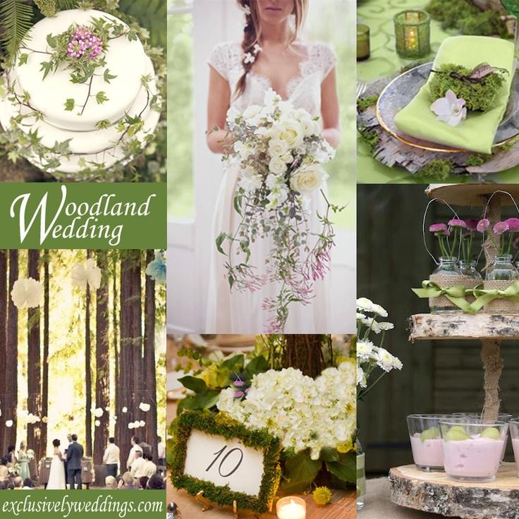 102 best woodland wedding ideas images on pinterest woodland woodland wedding theme exclusivelyweddings junglespirit Choice Image