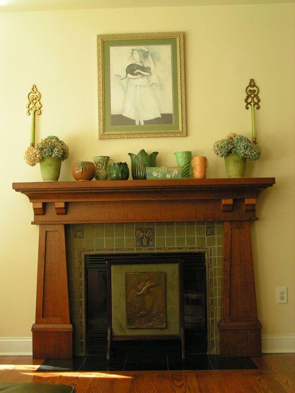 111 best Craftsman Fireplaces images on Pinterest | Craftsman ...