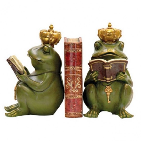 Unique And Attractive Bookends Design In Green With Gold Purple Accents 104 best images on Pinterest  Bookmarks and I want
