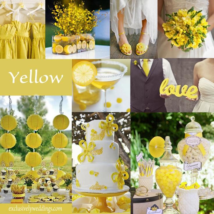 115 Best Yellow Wedding Ideas Images On Pinterest
