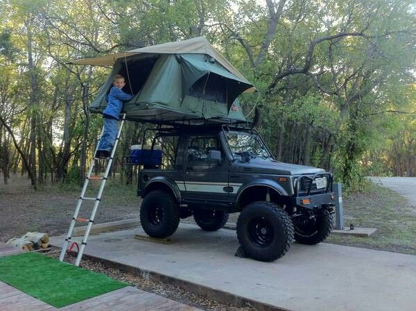 112 best rooftent images on Pinterest | Caravan Samurai and Suzuki jimny & 112 best rooftent images on Pinterest | Caravan Samurai and ...