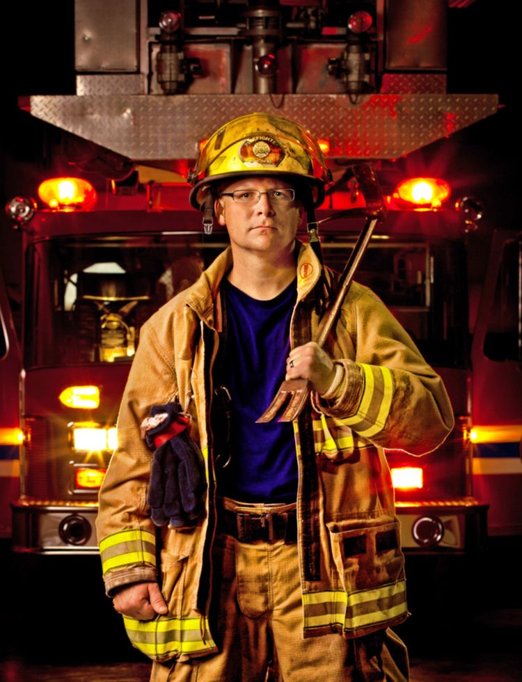 Alex Rousseau Firefighter