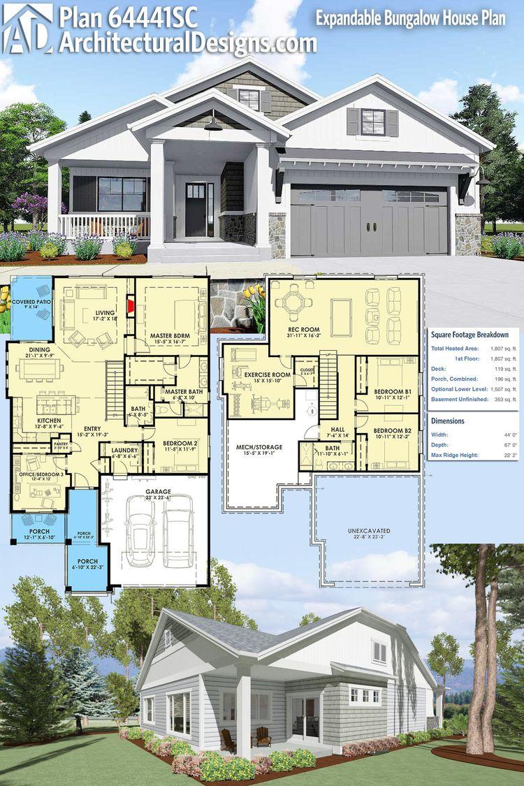 115 best Bungalow Style House Plans images
