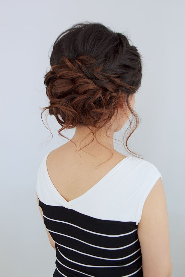 Prom Updo Hairstyles 294 Best Hair Images On Pinterest  Hair Colors Hair Cut And Hair Ideas