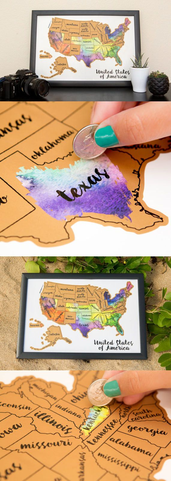 Scratch your travels with this gorgeous original