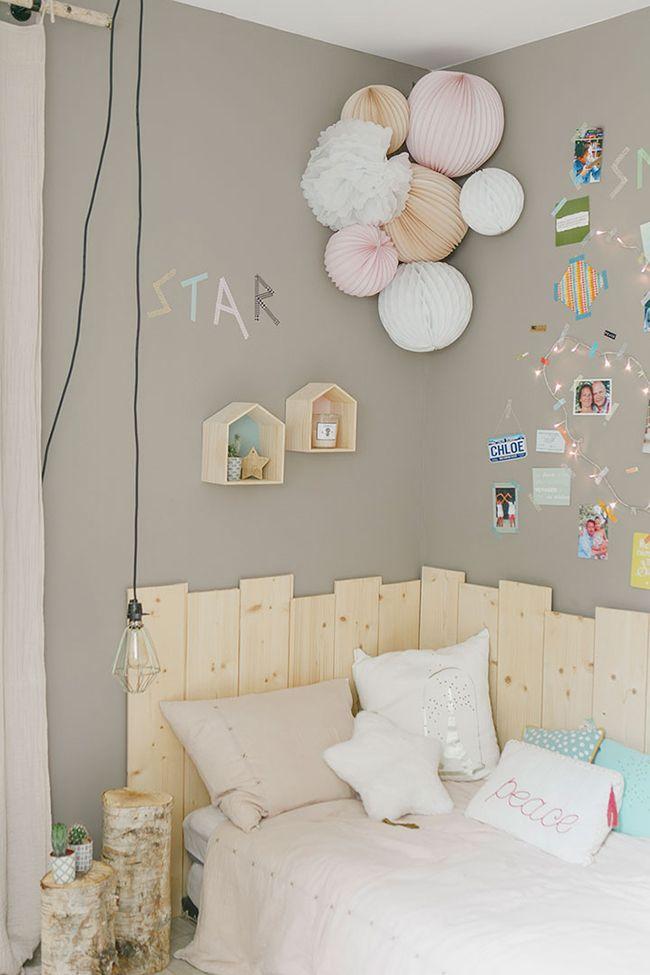 Elegant Una Idea De Para Decorar El Dormitorio De Una Adolescente.