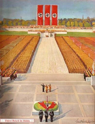 pakette reichsparteitag 1933
